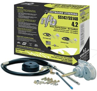 SeaStar Solutions SS14711 NFB (No Feedback) 4.2 Steering Kit, Single Cable - ()