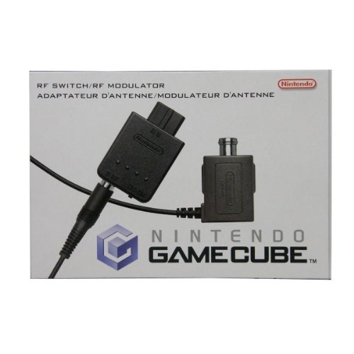GameCube RF Switch/RF Modulator Connect Rf Modulator