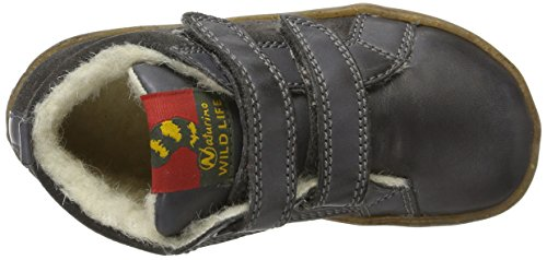 Naturino Baby Jungen Cloud VL Sneaker Grau (Dunkel Grau - 9106)