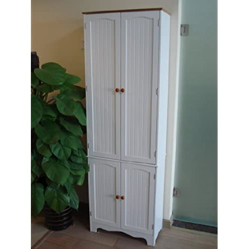 Tall Narrow Linen Cabinet Amazon Com