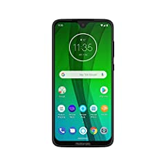 """Meet Moto G7 with Alexa Hands-Free. With a 6.2"""" Full HD+ Max Vision display, 19:9 aspect ratio, AI powered camera software, and a long-lasting battery, it's impressive any way you look at it. Now simply by saying """"Alexa"""" you can play music, h..."""