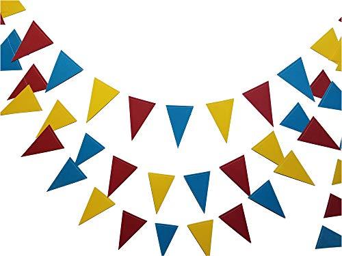 Circus Theme Triangle Banner |Circus Banner - Carnival Banner - Circus Party Garland | Circus Theme Party | Carnival Party Decorations | Triangle -
