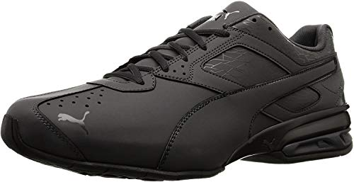 PUMA Men's Tazon 6 Fracture FM Sneaker Black