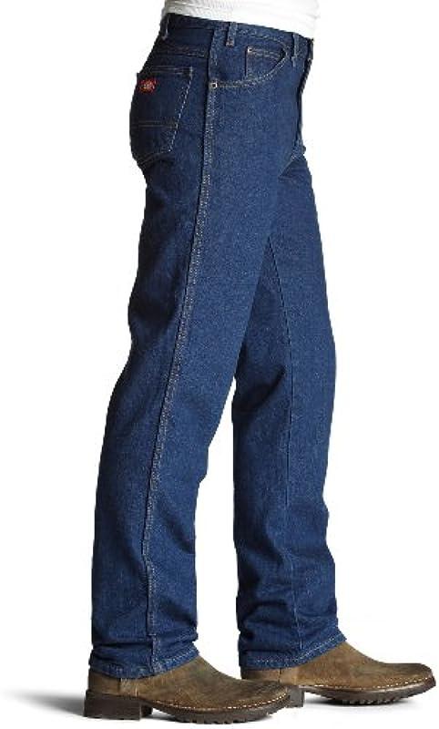 Dickies Dżinsy męskie, normalne dopasowanie, z 5 kieszeniami rozm. 44 W/34 L, niebieski indygo: Odzież