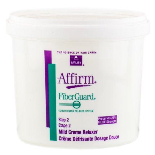 Avlon Affirm FiberGuard Creme Relaxer -Option Mild Fiberguard