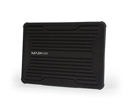 Max Cases Rugged Laptop Sleeve Notebook Sleeve - MacBook Air 13, MacBook Pro 13, MacBook 12, IPad Pro 12.9, MS Surface Pro 3/4, HP X2-1012, TP 12.5 - Magnetic Closure - Black by Max Cases
