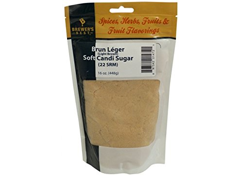 Adjunct - Soft Belgian Candi Sugar (Light Brown) (1 lb)