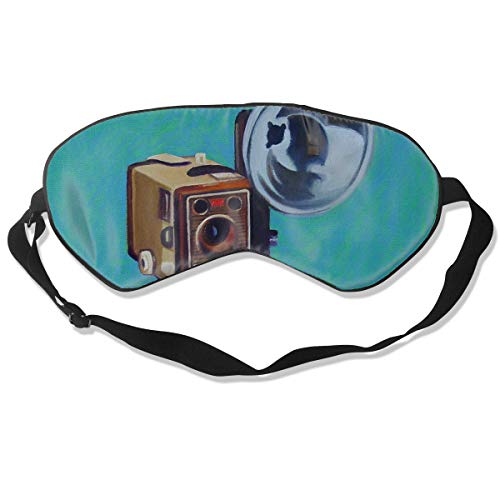 Sleep Mask Brownie Eye Cover Blackout Eye Masks,Breathable Blindfold]()