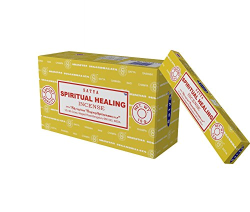 - Satya Nag Champa Spiritual Healing Incense Sticks, 12 Count