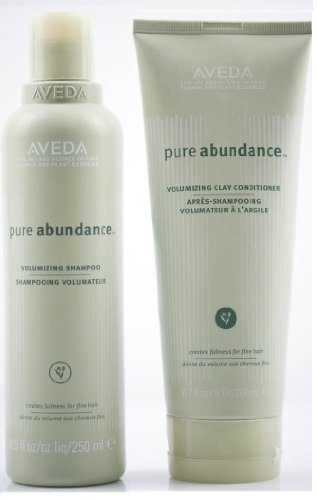 Aveda Pure Abundance Volumizing Shampoo 8.5 oz & Clay Conditioner 6.7 DUO