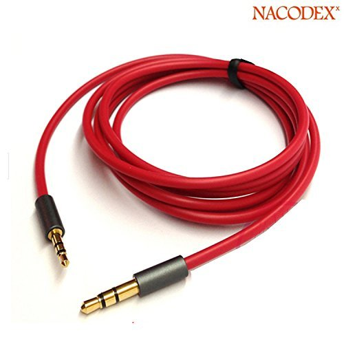 Nacodex®  High Quality 2.5mm Male to 3.5mm Male Audio Adapt