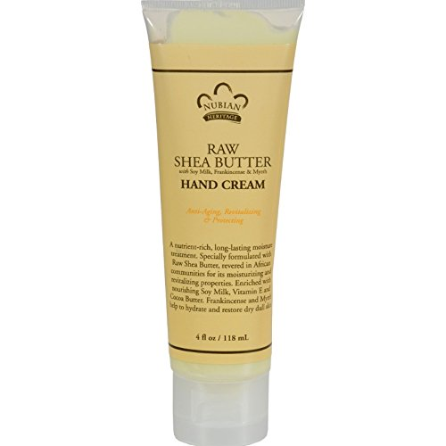 Nubian Heritage Hand Crm Raw Shea Butter
