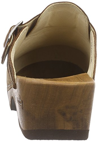 Women's Manu 001 Tabacco Brown Woody Clogs 7aOq4Bw