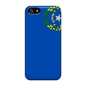 Apple Iphone 5/5s VkK19037ZUrB Allow Personal Design Trendy Nevada Pictures Bumper Phone Case -LisaSwinburnson