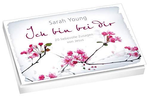 Ich bin bei dir - Postkartenbuch: 20 liebevolle Zusagen von Jesus.
