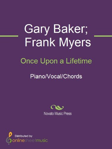 Once Upon A Lifetime Kindle Edition By Frank Myers Gary Baker