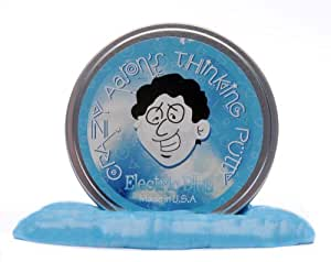 Crazy Aaron's Putty World Electric Blue Putty, 3.2 oz
