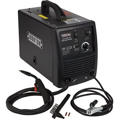 Ironton Flux Core 125 115V Flux Cored Welder - 125 Amp Output