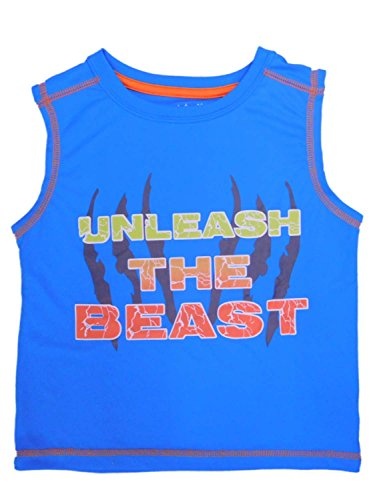 Price comparison product image Peanut & Ollie Infant & Toddler Boys Unleash The Beast Tank Top Muscle Shirt 12m