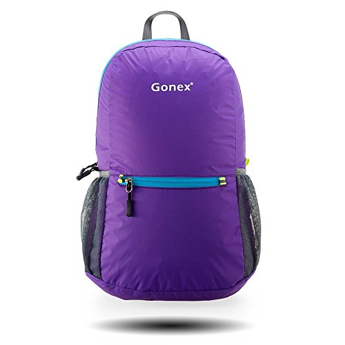 Gonex Ultra Lightweight Packable Hiking Backpack Handy Daypack for Camping Outdoor Travel Cycling School 20 Liters