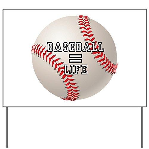 Yard Sign Baseball Equals Life Red Sox Cubs
