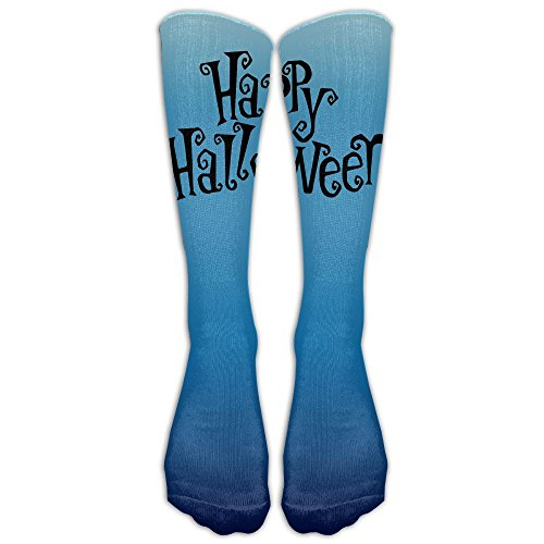 Happy Halloween Printed Crew Socks Warm Over Boots Stocking Cool Sports - Size Sunglasses Face To How For