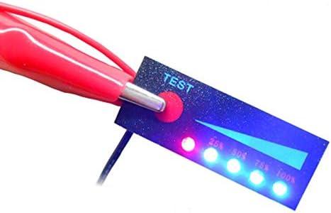 IENPAJNEPQN Tester 18650 5S Li-ION Lipo Batterie au Lithium SMD Capacit/é Compteur 5S Indicateur de Niveau /Écran LCD Module Testeur de Batterie DIY 5S KIt