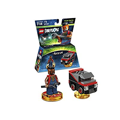 Warner Home Video - Games LEGO Dimensions, A Team Fun Pack B.A. Baracus - Not Machine Specific: Lego Dimensions: Team Fun Pack: Video Games