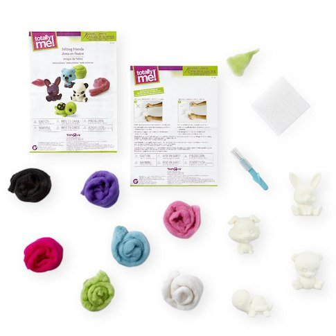 Totally Me Felting Friends Fabric Craft Kit