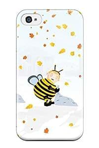 New Design Shatterproof YgDzInX7030IvRhd Case For Iphone 4/4s (autumn Halloween October)