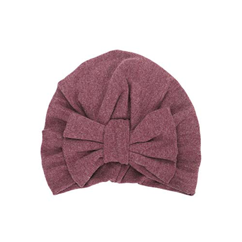 New Winter Baby Hat for Girls Big Bow Autumn Turban Baby Cap Baby Girl Hat