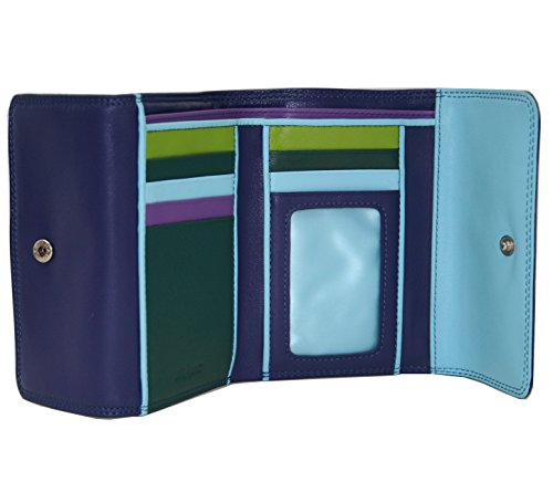 belarno-double-flap-bifold-wallet-blue