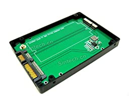 Sintech 24-Pin to SATA Adapter Card With Case For 2012 MACBOOK PRO Retina A1398 A1425 MC975 MC976 IMAC SSD