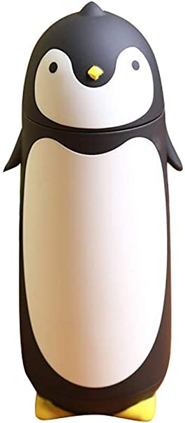 Penguin Stainless Steel Vacuum Thermos Travel Mug