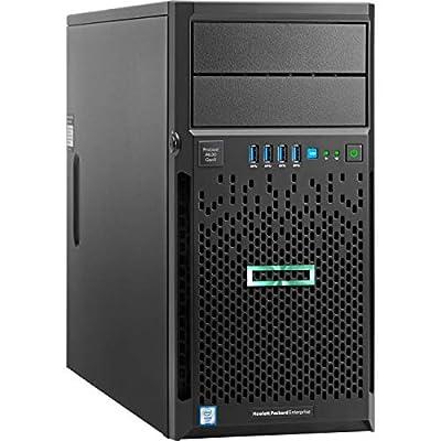 HPE ProLiant ML30 Gen9 Tower Server, Intel Xeon E3-1230 v6 Quad-Core 3.5GHz 8MB, 32GB DDR4 RAM, 8TB Storage, RAID, iLO 4, 3 Years Warranty