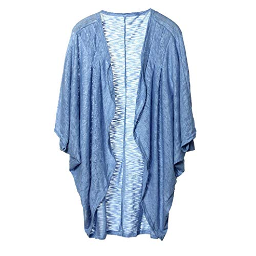 UOFOCO Womens Lady Cardigan Casual Jacket Knit Sleeve Sweater ()