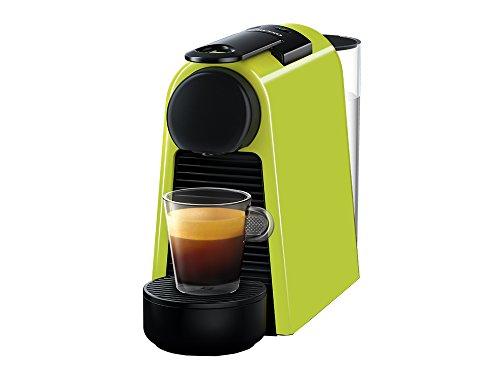 Cafetera Nespresso Essenza Mini, Color Verde (Incluye obsequio de 14 cápsulas de café)