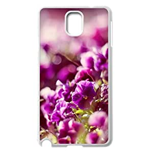 Yearinspace Bokeh Flowers Samsung Galaxy Note 3 Case Bokeh Flowers for Girls, Case for Samsung Galaxy Note3 for Girls [White]