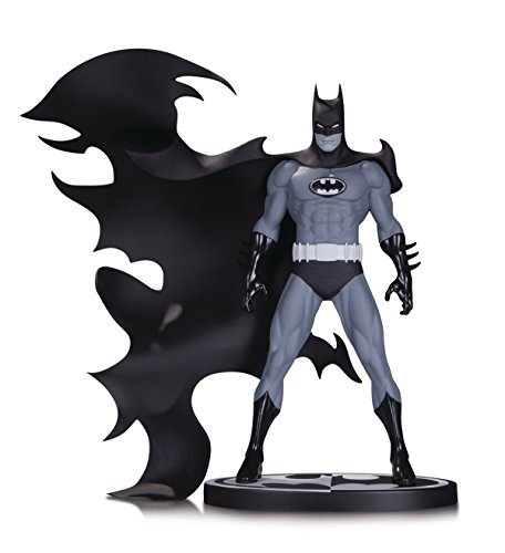 DC Collectibles Batman Black & White Batman by Norm Breyfogle - Black Statue White And Batman