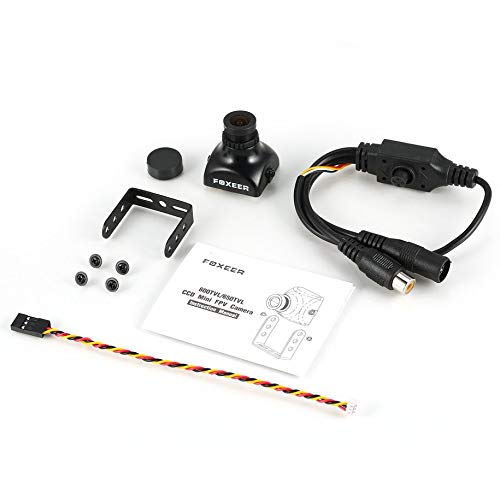 FPV Camera Foxeer XAT600M 600TVL PAL CCD Mini FPV Camera Cam with 2.8mm Lens OSD Menu Backlight IR-Block for DIY RC Racing Drone