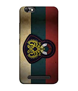 ColorKing Football Russia 14 Multicolor shell case cover for Lenovo Vibe C