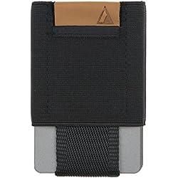 BASICS Men's Slim Wallet Black