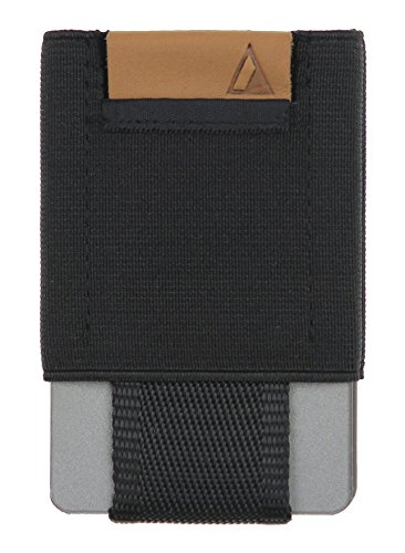 BASICS Men's Slim Wallet Black