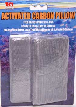 Tom Activated Carbon Pad 2 Pack Fits Rapids Pro Series Ps3