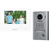 "JOS1VW AIPHONE 7"" Wireless Video Intercom Kit with Jo1mdw, Jodv & P/S JOS1VW Metal Vandal Resistant Surface Mount Camera…"
