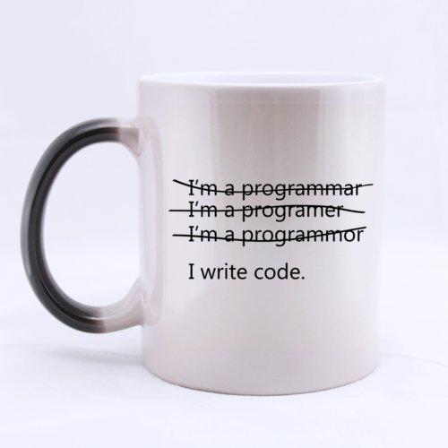 Funny Wrong I'm a Programmer I Write Code Heat Sensitive...