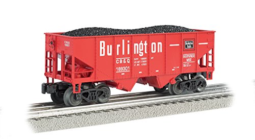 Williams by Bachmann Burlington 2-Bay USRA Outside Braced Hopper Truck, 55 Tons