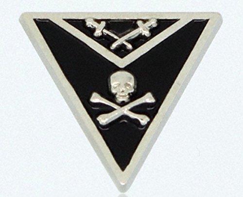 York Rite Knights Templar Member Apron Freemason Masonic Lapel Pin (Mens Templar Knight Costume)