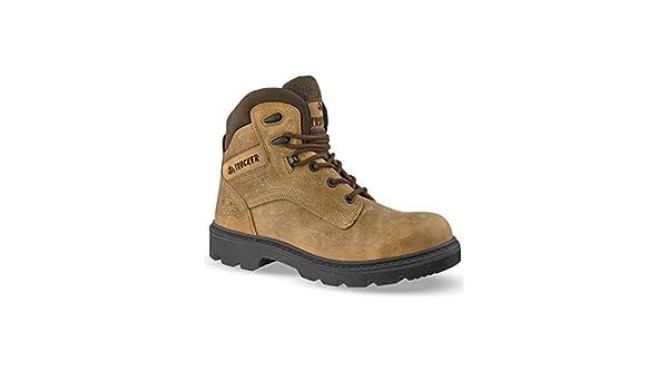 Calzado de seguridad ICELAND-82016 piel, color marrón, Negro (negro), 45: Amazon.es: Zapatos y complementos