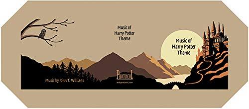 Protocol Harry Potter Theme 2 Spieluhr mit Kurbel und Melodie.